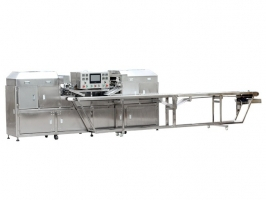 Egg Roller with Conveyor Line