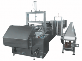Stick biscuit chocolate coating machine