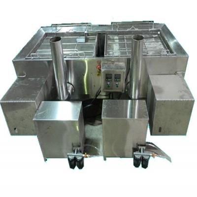 Double-oven frying pan